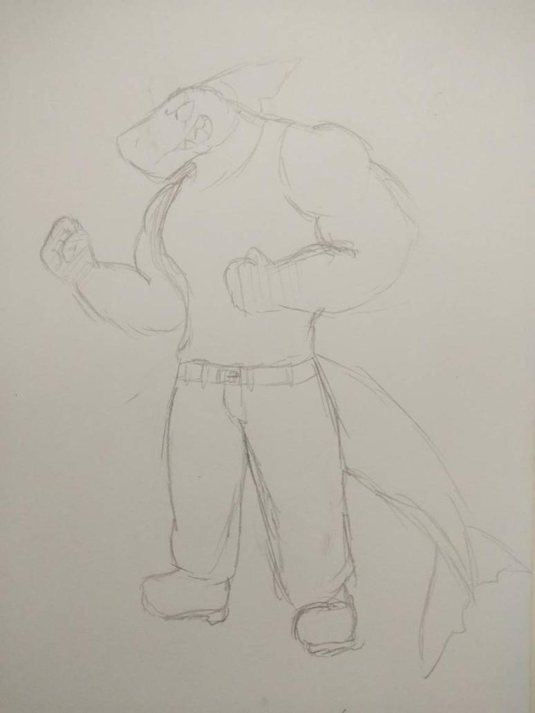 Rex *Sketch* by Animatorist