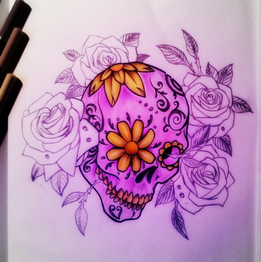 100 Awesome Skull Tattoo Designs  Art and Design