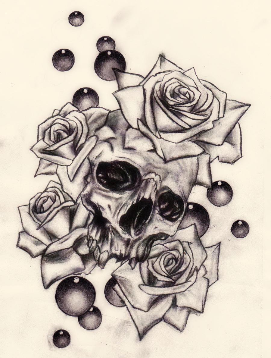 Roses And Skulls Tumblr | www.imgkid.com - The Image Kid ...