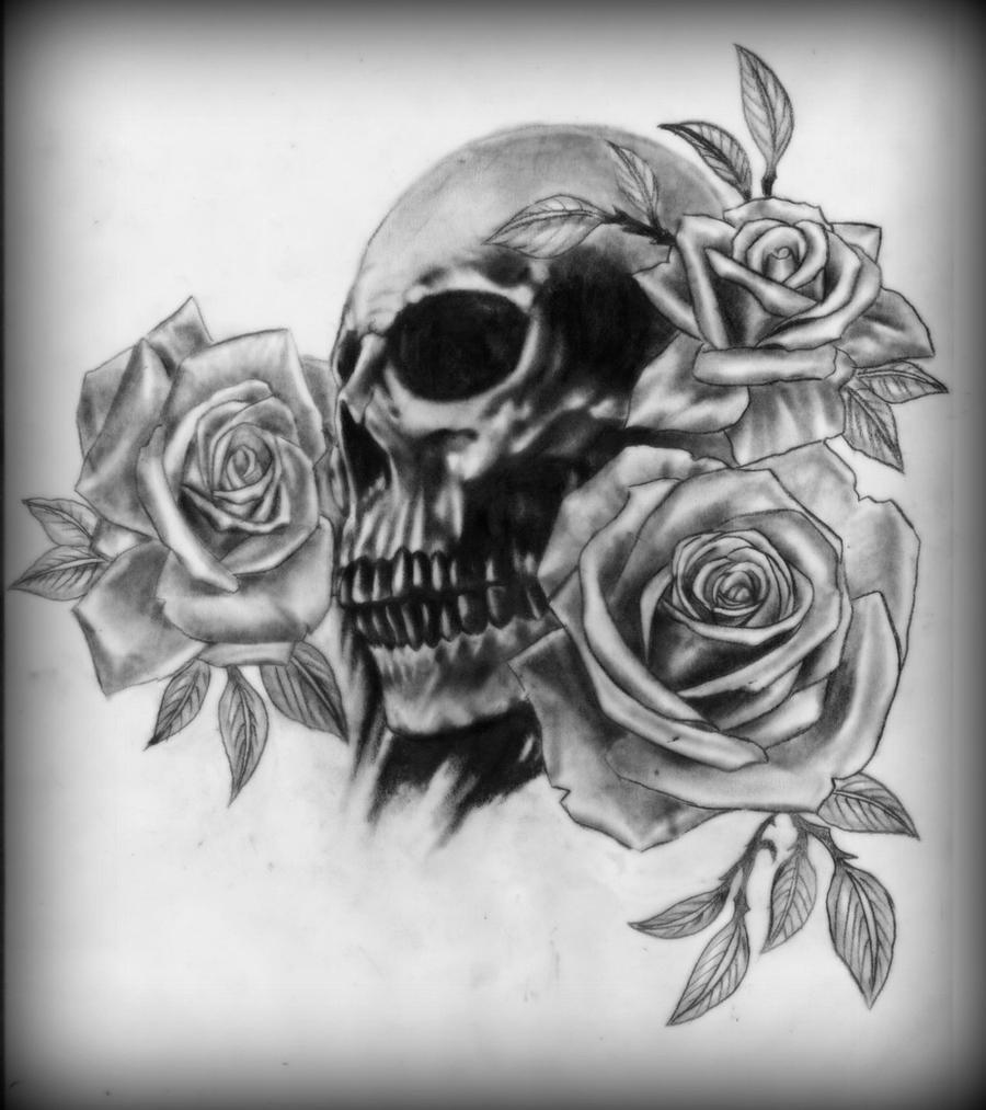 eletragesi black roses and skulls images. Black Bedroom Furniture Sets. Home Design Ideas