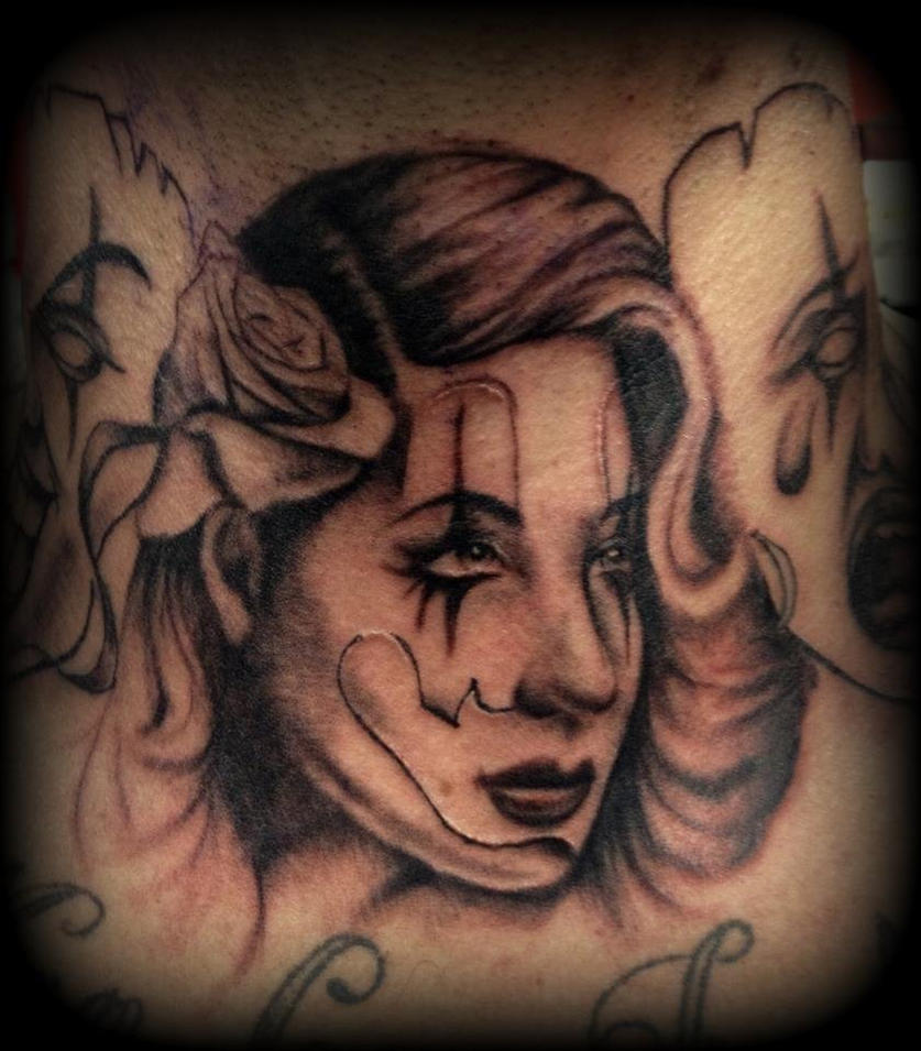 gangsta girls tattoos - photo #14