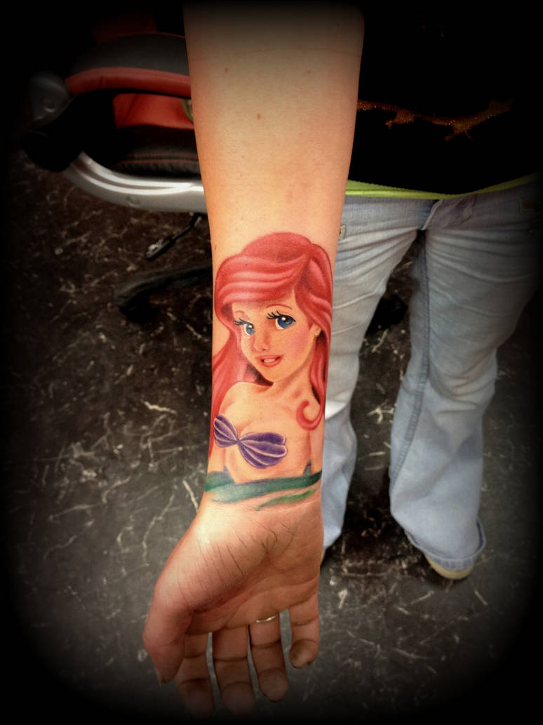 The little mermaid tattoo by CalebSlabzzzGraham on DeviantArt