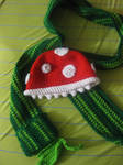 Piranha Plant Hat and Pipe Scarf