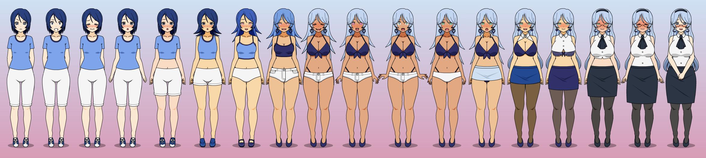 Bigger Is Better In Blue by Chicken-Yuki on DeviantArt