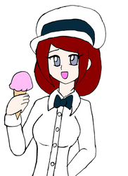 Squee for Strawberry Ice Cream -Digital-
