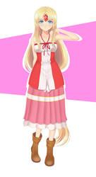 KH2 Dress Riesz Alt by YamiKazu