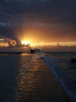 Sunsets and shipwrecks