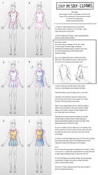 How to draw: Clothes by leexz