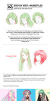 How to Draw : Hairstyles Pt. 2
