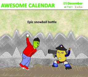 Awesome Calendar 05 by Eternien