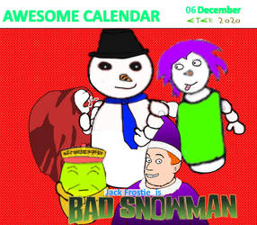 Awesome Calendar 06 by Eternien