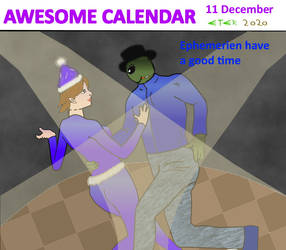Awesome Calendar 11 by Eternien