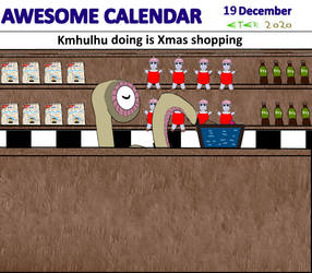 Awesome Calendar 19 by Eternien