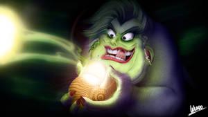 Ursula Untooned - closeup