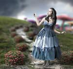 Alice in Wonderland +making of