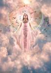 Iris, The Goddess of The Rainbow And The Sky