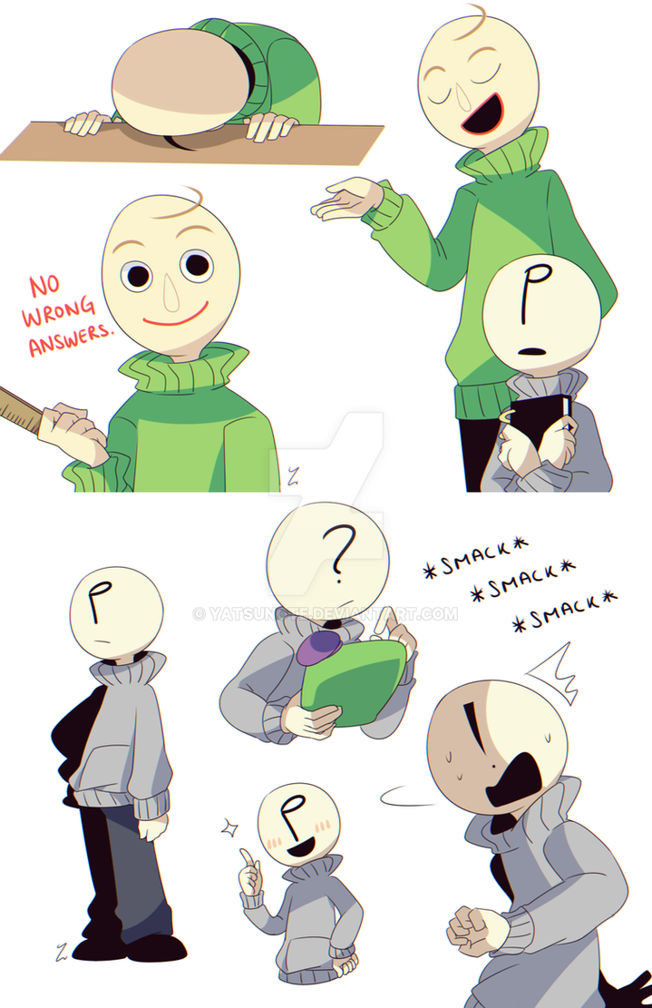 even more baldi s by yatsunote on deviantart