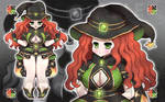 [#15 OPEN-ADOPT] Witch by Houron-o