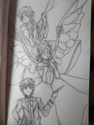 [WIP - TID] The Angel, The Prince And The Princess by Ashirei