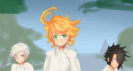 [WIP] The Promised Neverland  by Ashirei