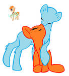 couple pony base