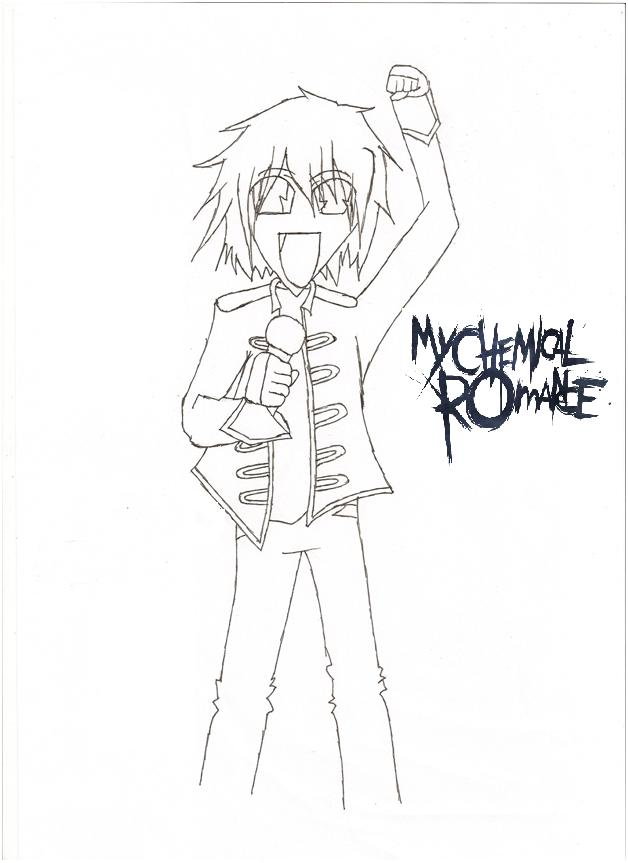 my chemical romance gerard way by poodletips10
