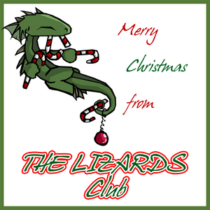 Merry Lizardy Christmas