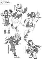 Free Sketches::Dec by KetsuoTategami