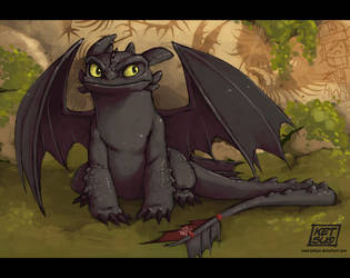Toothless by KetsuoTategami