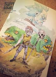Evil Morty - Survivor by KetsuoTategami