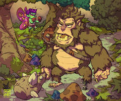 Bigfoot and Boxer Fairy