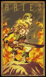 Zodiac Tarot: Aries