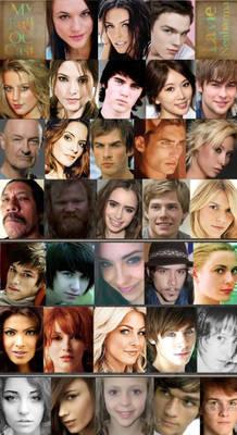 My full OC cast