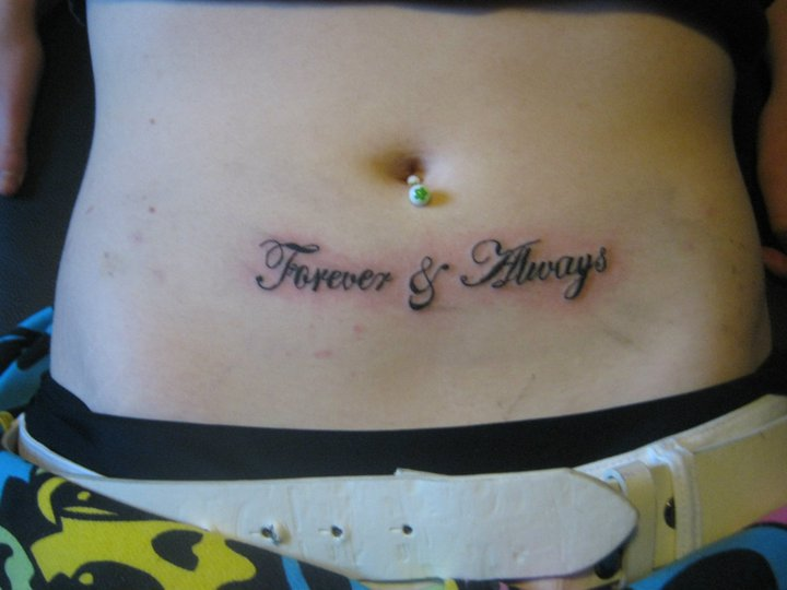 b099eb245 Forever and Always Tattoo by AddyKitten93 on DeviantArt