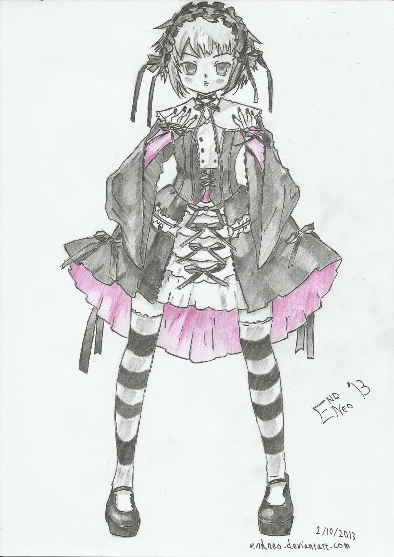 Nagato Yuki - Elegant Gothic Lolita by endneo