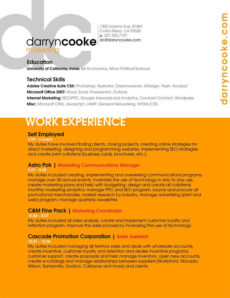 CV Darryn Cooke - 2010 by deeceeuci on DeviantArt
