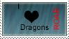 Dragon stamp by elementalgoddragon
