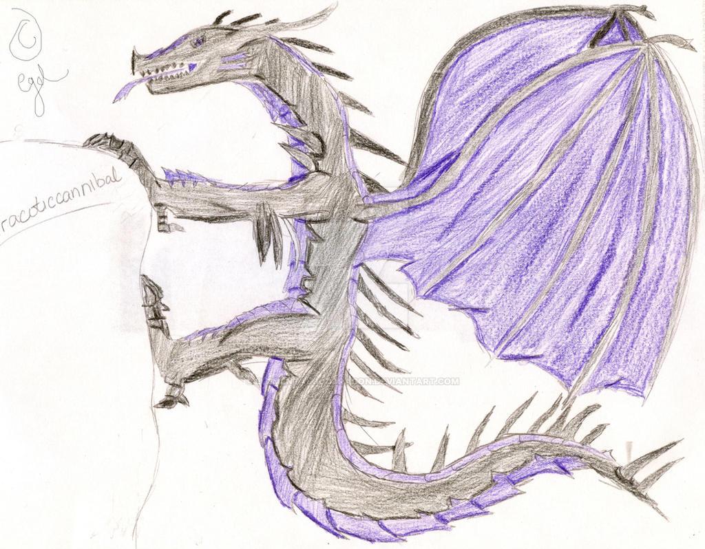 X-masP: Dracotic dragon by elementalgoddragon