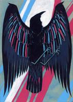 bright raven by Jeremy-Forson