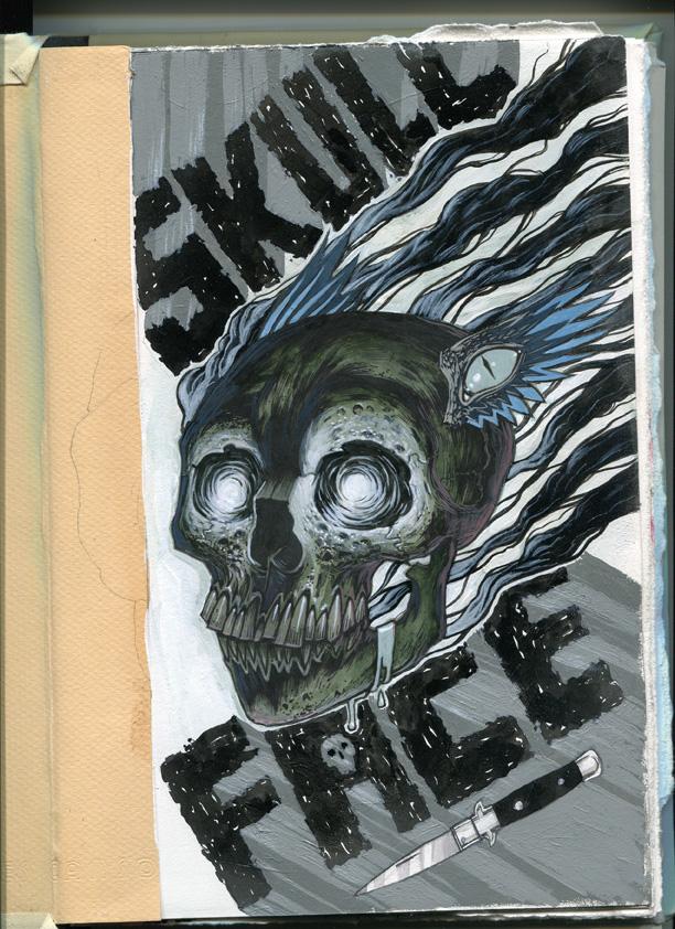 Skull Face by Jeremy-Forson