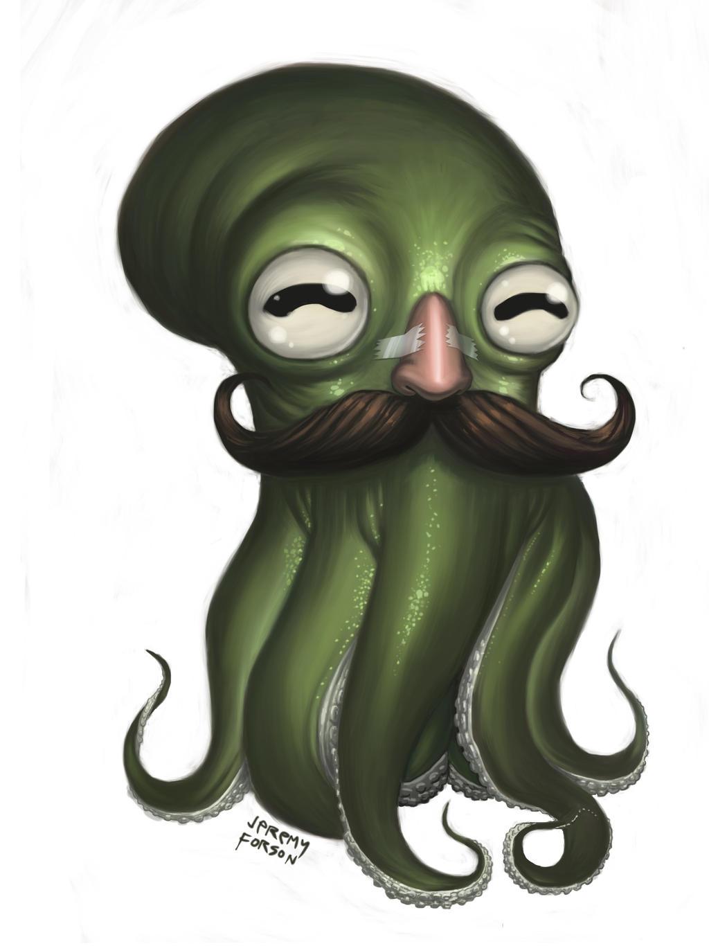 Fancy Octopus 2 by Jeremy-Forson