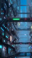 Futuristic Slums by SymbioticFusion