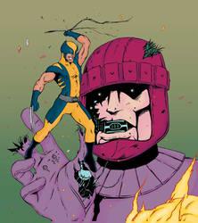 Wolverine-VS-Sentinel