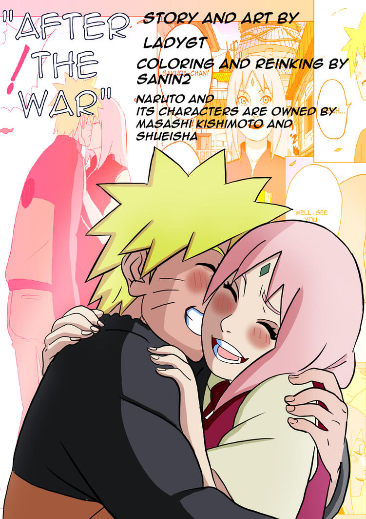 After The War Credits page by Sanin2