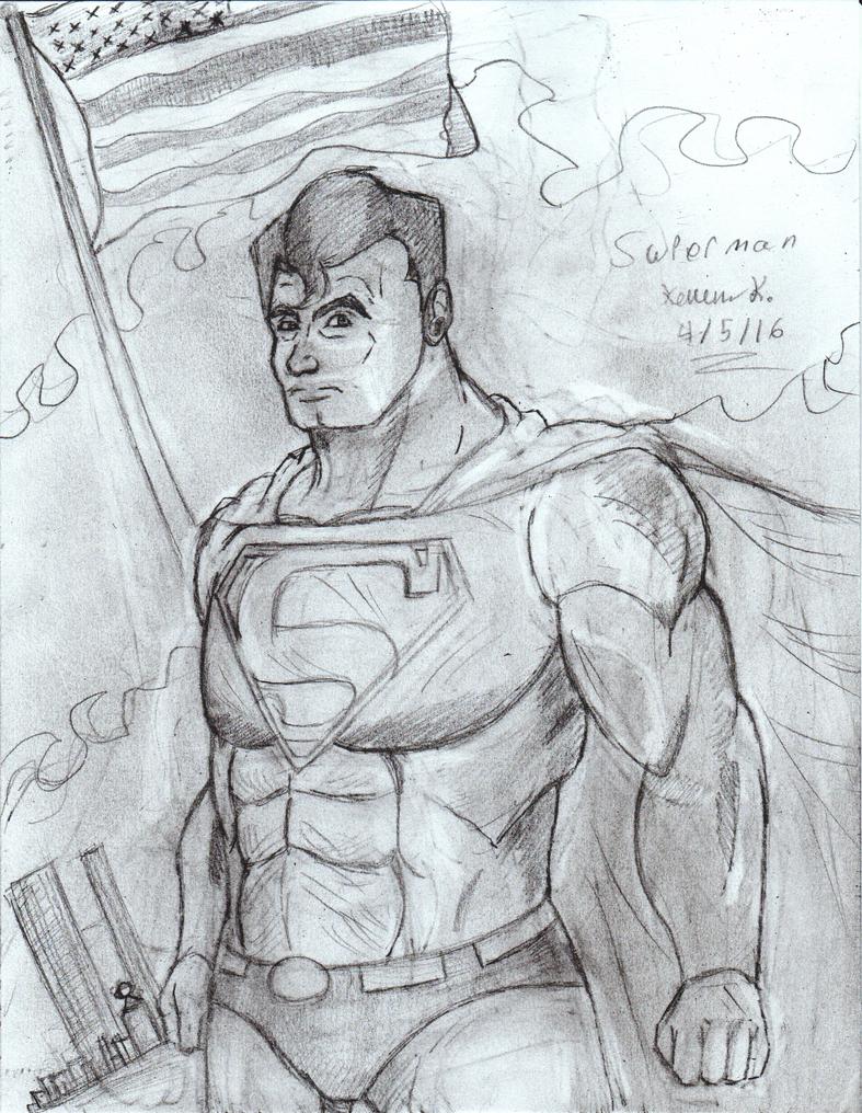 Superman by Sanin2
