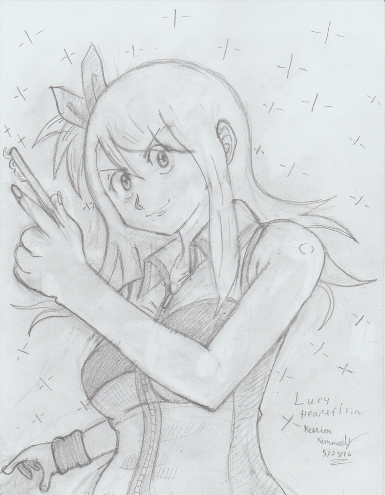 Lucy Heartfilia Fairy Tail by Sanin2
