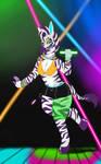 Pretty Rave Zebra