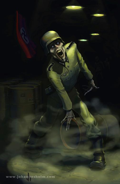 Zombie by priapos78