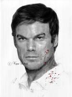 Dexter Morgan by vipinkabadi