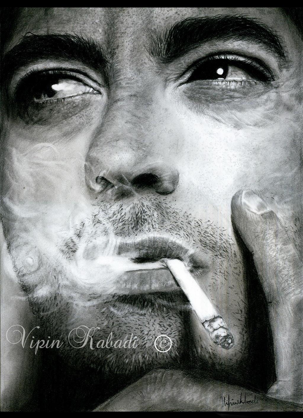 Robert Downey Jr by vipinkabadi